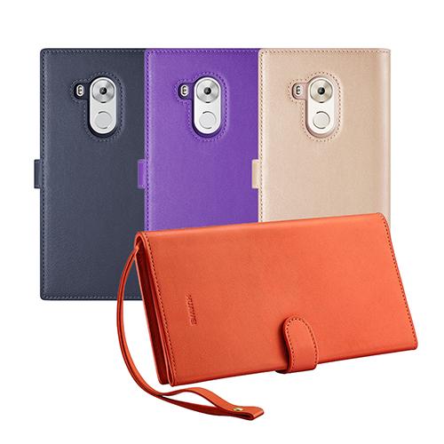 HUAWEI 華為原廠 Mate8 真皮商務手拿包 / 手機保護套 (盒裝)
