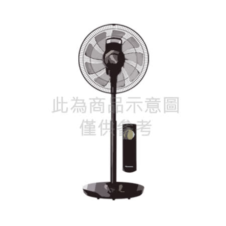 │Panasonic│國際牌 14吋DC馬達nanoe X電風扇 F-H14EXD-K