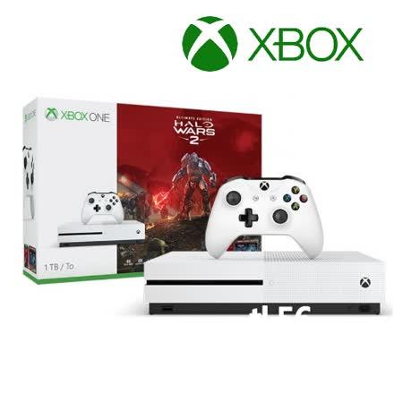 Xbox One S 1TB 同捆組 《最後一戰:星環戰役2》贈XBOX ONE S 直立架 [夏季加碼送:大家源涼夏10吋桌扇]