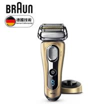 德國 BRAUN 百靈 9系列音波電鬍刀 9299s 金色
