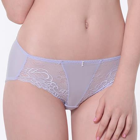 【LADY】皇室情人系列 中腰平口褲(薰衣紫)