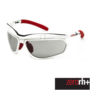 ZeroRH+ 義大利 OLYMPO AIRX 專業運動太陽眼鏡(變色鏡片款) 白/紅 RH863 27