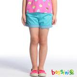 bossini女童-輕便短褲05淺綠松(品特)
