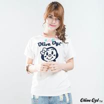 【Olive Oyl奧莉薇】線織奧莉薇娃娃彈性柔棉T恤(共二色)