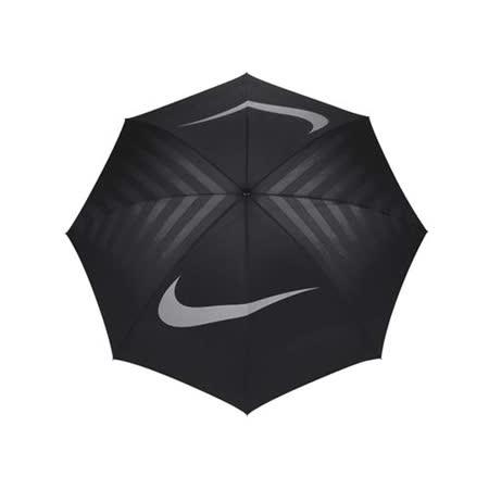 NIKE GOLF 高爾夫傘-晴雨傘 商務傘 雨傘 抗風 遮陽傘 黑深灰 F