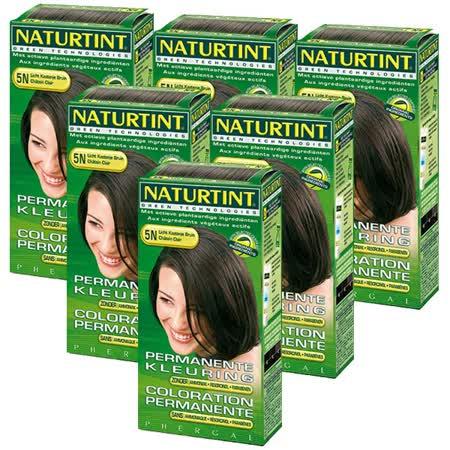 【團購】Naturtint 赫本植物性染髮劑 12款任選6入