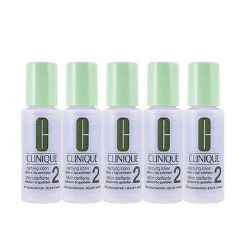 Clinique 三步驟潔膚水二號 30mlX5