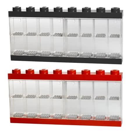 【 樂高積木 LEGO 】八柱十六間公仔展示盒 ( 兩色可選 )