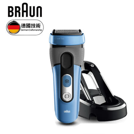 德國 BRAUN 百靈°CoolTec系列 CT4s 冰感科技電鬍刀