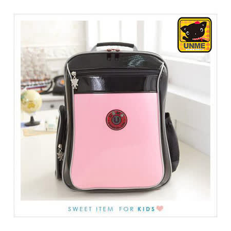 【UNME】中低年級適用-經典款減壓書包 (粉色3204)