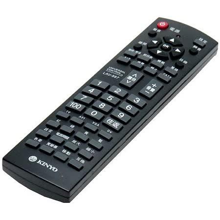 KINYO萬用型液晶電視遙控器(LAV-887)