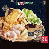 嘉義林聰明沙鍋魚肉禮盒2100G/盒