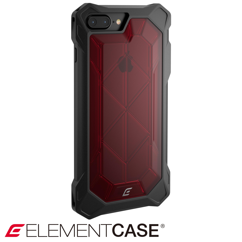 美國 Element Case iPhone 7 系列 REV 超強化防摔手機保護殼 - 紅