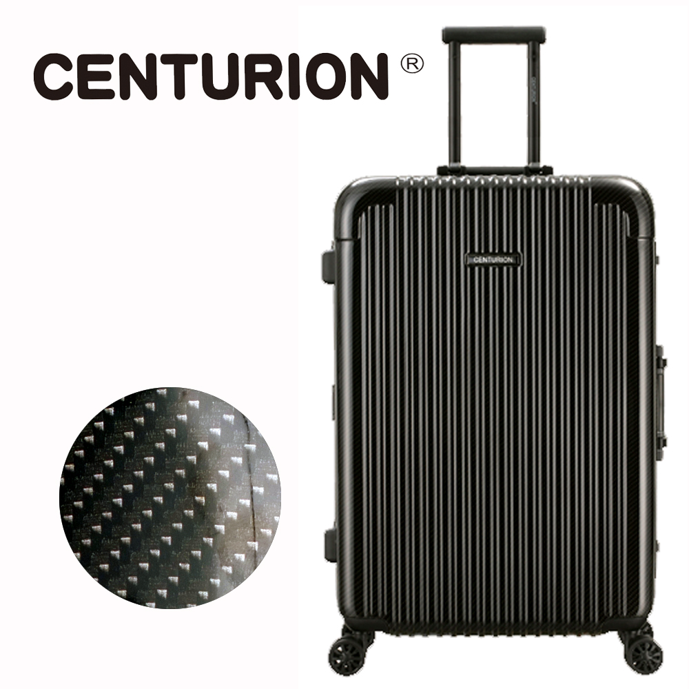 【CENTURION】美國百夫長29吋行李箱-奧蘭多黑mco(鋁框箱)