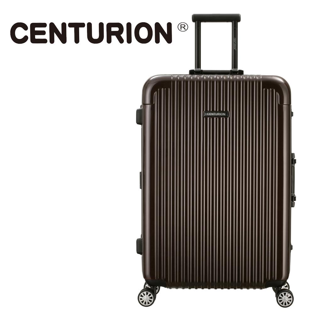 【CENTURION】美國百夫長29吋行李箱-洛杉磯可可lax(鋁框箱)