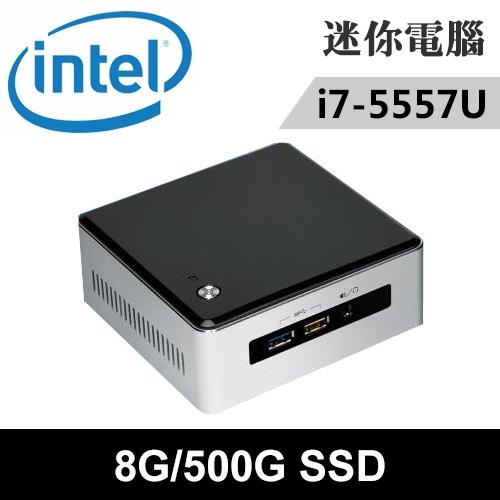 Intel NUC5I7RYH-08500N 特仕版 迷你電腦(i7-5557U/8G/500G SSD)