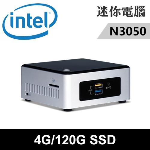 Intel NUC5CPYH-04120N 特仕版 迷你電腦(N3050/4G/120G SSD)