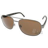 BURBERRY太陽眼鏡 率性飛行款(銀) #BU3083 10085W