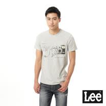 Lee 相片印刷短袖T恤
