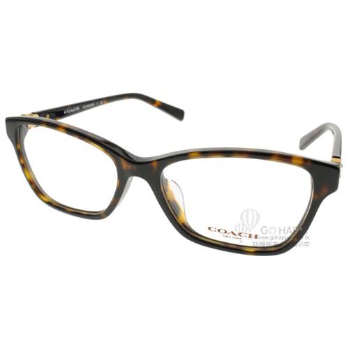 COACH眼鏡 時尚唯美雕花(琥珀) #CO6091BF 5120