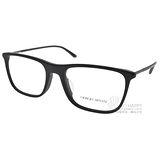 GIORGIO ARMANI眼鏡 簡約經典款(霧黑) #GA7101F 5042