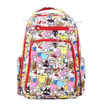 【美國JuJuBe媽咪包】HelloKitty聯名款BeRightBack手提/後背輕便型媽媽包-Hello Sanrio 三麗鷗,全員集合!
