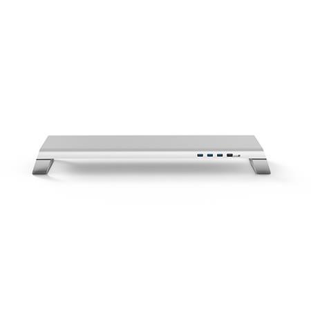MONITORMATE miniS 多功能螢幕架 - 北歐銀