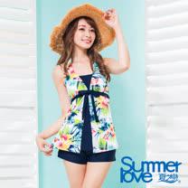 【夏之戀SUMMERLOVE】大女顯瘦款長版三件式S17718