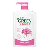 綠的抗菌沐浴乳-天竺葵精油1000ml