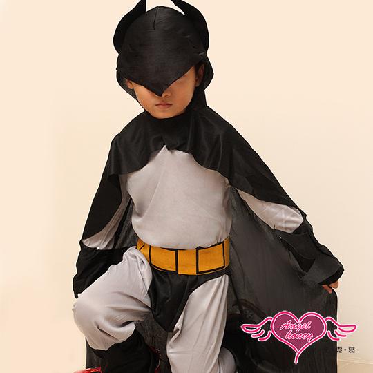 【天使霓裳】角色扮演 正義帥氣蝙蝠俠 萬聖節童裝系列(灰M.L)
