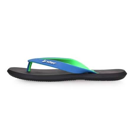 (男) Rider 夾腳拖鞋-人字拖 海邊 戲水 沙灘 游泳 藍綠白