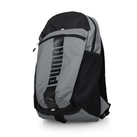 PUMA DECK後背包-15吋筆電 雙肩包 旅行包 電腦包 鐵灰黑 F
