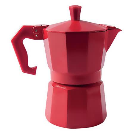 《EXCELSA》Chicco義式摩卡壺(紅3杯)