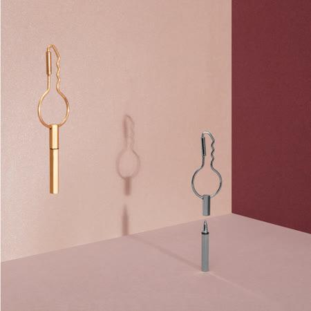 DOIY 金銀筆鑰匙圈 鑰匙環 鑰匙扣