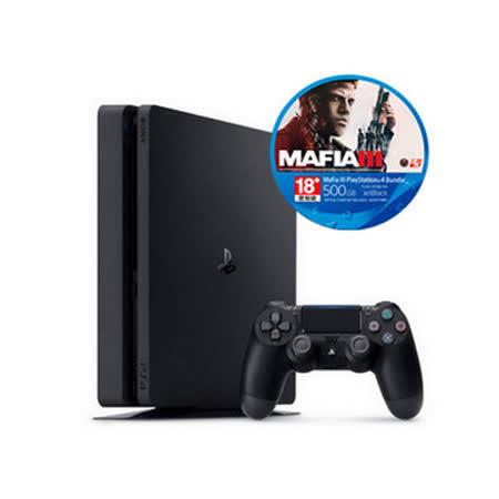 SONY PS4 四海兄弟 MAFIA III 主機同捆組