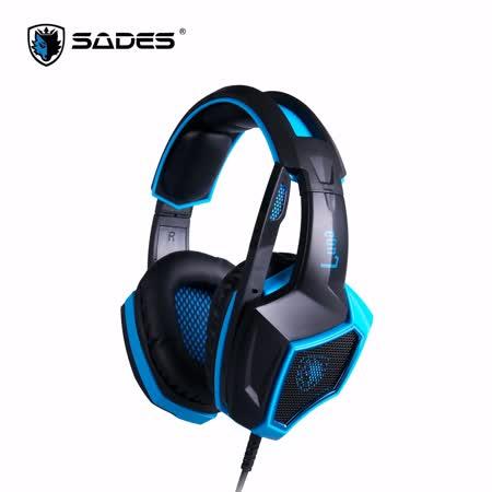 SADES 賽德斯 Luna 狼月 7.1電競耳麥 USB 電競耳機麥克風
