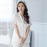 Wonderland ST1602-3俏甜變化居家休閒衣褲組(白)