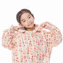 【rainstory】粉彩花朵兒童連身雨衣