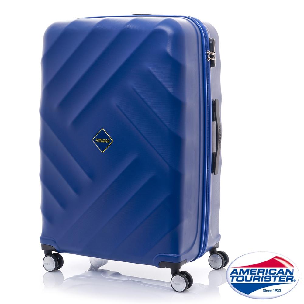 AT美國旅行者 28吋Gravity重力系列防刮飛機輪TSA行李箱(藍)