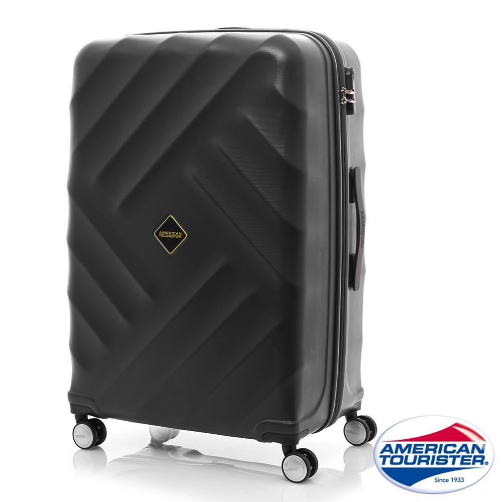 AT美國旅行者 28吋Gravity重力系列防刮飛機輪TSA行李箱(黑)