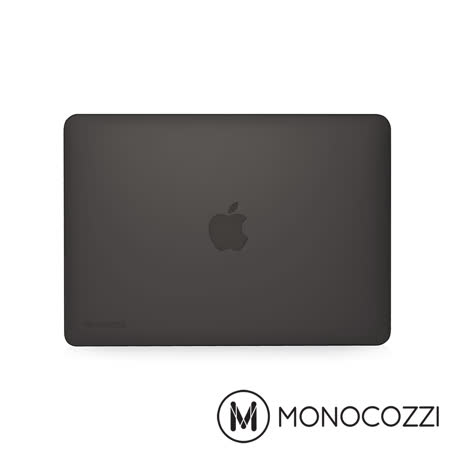 MONOCOZZI LUCID FOR MacBook Pro 13吋  (2016 Touch ID)-半透明保護殼 霧面黑