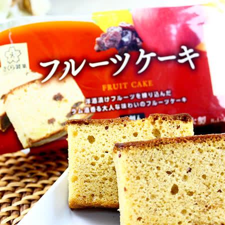 日本櫻花 綜合水果蛋糕210g
