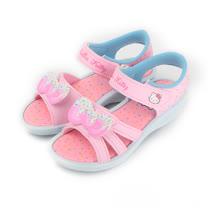 (中大童) HELLO KITTY 繽紛冰淇淋涼鞋 粉 童鞋 鞋全家福