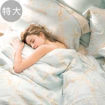Tonia Nicole東妮寢飾 歐爾佳100%天絲超水感被套床包組(特大)
