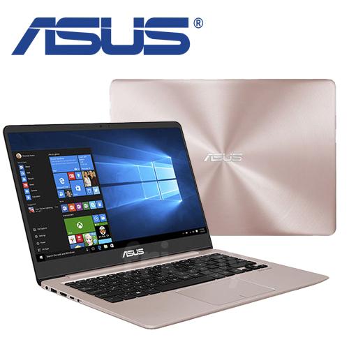 ASUS 華碩 UX410UQ 14吋 i5-7200U/4G/256G SSD/2G獨顯/Win10/玫瑰金 輕薄極速筆電-送7-11禮卷100元、專用散熱座、防水鍵盤膜