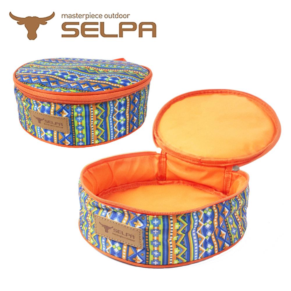 【韓國SELPA】民族風加厚餐盤收納包/露營/登山/野餐(兩款任選)