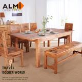 【ALMI】DOCKER WORLD-EXTENSION DINING TABLE 伸展餐桌