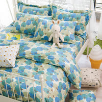 OLIVIA 《 森林物語 》 加大雙人床包枕套三件組