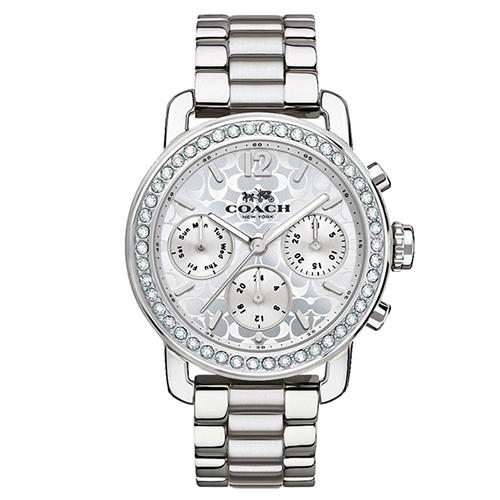 【COACH】氣質經典晶鑽時尚腕錶 CO14502369