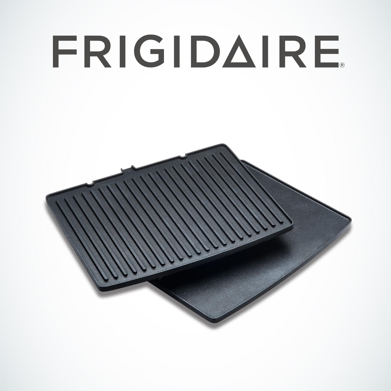 美國富及第Frigidaire 雙控溫雙烤盤專屬配件(上平面炒盤+下紋路烤盤) FKG-2121BD-12